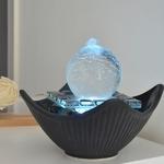 fontaine led interieur cristal line sydney vendue sur deco-lumineuse.fr