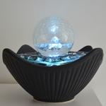 fontaine led interieur zen cristal line sydney vendue sur deco-lumineuse.fr