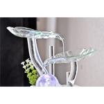 fontaine cristal line flower vendue sur deco-lumineuse.fr