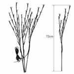 branches lumineuses a piles arbres cerisier led