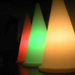 cone lumineux led vendu sur www.deco-lumineuse.fr