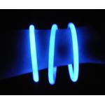 bracelets-lumineux-fluo-bleu vendus sur deco-lumineuse.fr