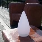 cone lumineux  led drop led vendu sur www.deco-lumineuse.fr