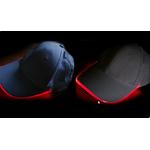 casquette lumineuse led rouge vendue sur deco-lumineuse.fr