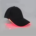 casquettes lumineuse led rouge vendue sur deco-lumineuse.fr