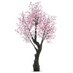 arbres led lumineux cerisier 2.00m 576 led blanc chaud
