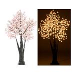 arbre lumineux led exterieur 1.5m 384 leds blanc chaud