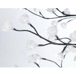 arbre illuminé lumineux led exterieur cerisier 180cm 336 fleurs led rvb