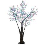arbre lumineux led cerisier 180cm 336 fleurs led rvb