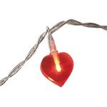 guirland lumineuse led coeur rouge vendue sur deco-lumineuse.fr