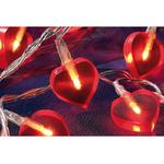 guirlande led lumineuse rouge coeur vendue sur deco-lumineuse.fr