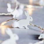 guirlande lumineuse led micro led 20 led lapin bois vendue sur deco-lumineuse.fr