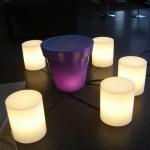 pouf lumineux led ,venice vendu sur www.deco-lumineuse.fr