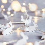guirlande led micro led 20 led lapin bois vendue sur deco-lumineuse.fr
