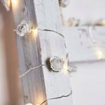 guirlande lumineuse micro led 20 led fleur blanche vendue sur deco-lumineuse.fr