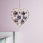 guirlande led avec coeur accroche photos vendue sur deco-lumineuse.fr
