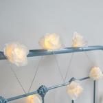 guirlande lumineuse piles Roses Juliettes blanches vendues sur deco-lumineuse.fr