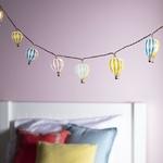 guirlandes lumineuse led enfant 12 led montgolfieres vendue sue deco-lumineuse.fr