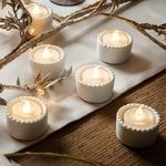 bougie led chauffe plat bougeoir ceramique vendue sur deco-lumineuse.fr