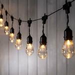 guirlande led guinguette 15 ampoules cable noir piles vendue sur deco-lumineuse.fr