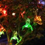 guirlande lumineuse solaire 10 colibris rvb vendue sur deco-lumineuse.fr