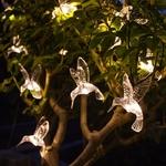 guirlande led solaire 10 colibris vendue sur deco-lumineuse.fr