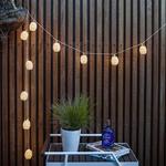 guirlande led solaire 10 boules rotins vendue sur deco-lumineuse.fr