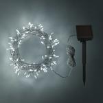 guirlande lumineuse led solaire 100 led blanc froid vendue sur deco-lumineuse.fr