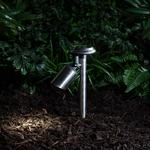 spot led solaire de jardin à piquer vendu sur deco-lumineuse.fr