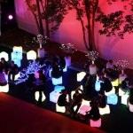 pouf lumineux LED vendu sur www.deco-lumineuse.fr
