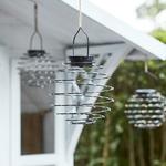 trio de lanterne lumineuse led solaire rechargeable exterieure vendue sur deco-lumineuse.fr