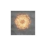 guirlande lumineuse led 720 micro leds blanc chaud fil argent