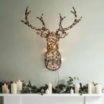 tete de cerf lumineuse décoration de noël vendu sur deco-lumineuse.fr