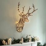 tete de cerf lumineuse décoration noël vendu sur deco-lumineuse.fr