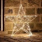 grande étoile lumineuse led deco noël micro led vendu sur deco-lumineuse.fr