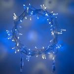 guirlande lumineuse led serie coeur raccordable 10m 80 m 800 led bleue blanche vendue sur deco-lumineuse.fr
