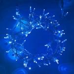 guirlande lumineuse led serie coeur raccordable 10m 80 m 800 led bleue vendue sur deco-lumineuse.fr
