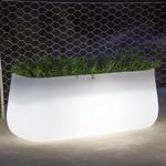 pot de fleur lumineux jardiniere lumineuse led rvb exterieur vendue sur deco-lumineuse.fr