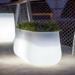 pot de fleur lumineux jardiniere lumineuse led sans fil vendue sur deco-lumineuse.fr