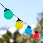 guirlande lumineuse led guinguette exterieur noel 30 led couleurs vendue sur deco-lumineuse.fr