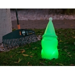 nain de jardin de noël lumineux led telecommande sans fil exterieur vendu sur deco-lumineuse.fr
