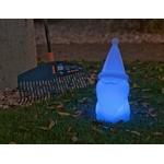 nain de jardin de noël lumineux et led telecommande sans fil exterieur vendu sur deco-lumineuse.fr