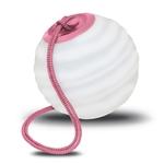 lampe led sans fil design à suspendre rvb soro rose beige mobilier lumineux vendue sur deco-lumineuse.fr