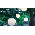 lampe led sans fil design à suspendre rvb soro blanche ext mobilier lumineux vendue sur deco-lumineuse.fr