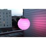 lampe led sans fil design à suspendre rvb soro rose ext mobilier lumineux vendue sur deco-lumineuse.fr