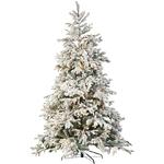 sapin de noël lumineux led 225 cm 500 leds blanc chaud vendu sur deco-lumineus.fr