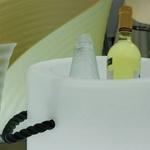 seau à champagne et glace lumineux led rvb sans fil palmo vendu sur deco-lumineuse.fr