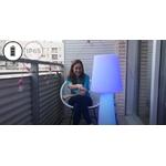 lampe à led sans fil rechargeable extérieur pour terrasses balcon lola 110 vendue se deco-lumineuse.fr
