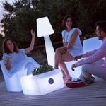 lampe à led sans fil rechargeable exterieur pour terrasses balcon lola 165 vendue se deco-lumineuse.fr