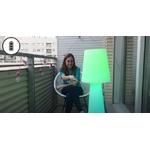lampe à led sans fil rechargeable rvb extérieur pour terrasses balcon lola 110 vendue se deco-lumineuse.fr